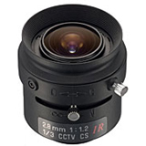 Tamron - 13FM28IR - Tamron 13FM28IR Manual Iris Fixed Focus Lens - 2.8mm - f/1.2