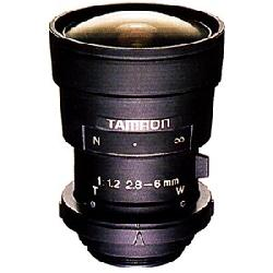 Tamron - 13VA286-SQ - Tamron 13VA286-SQ Aspherical Video Iris Zoom Lens - 2.8mm to 6mm - f/1.2