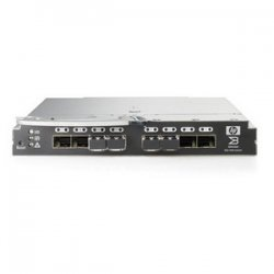 Hewlett Packard (HP) - AE371A - HP Brocade 4Gb SAN Switch c-Class BladeSystem - 24 Ports - 4.24Gbps