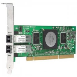 Hewlett Packard (HP) - AE369A - HP StorageWorks FC1243 Dual Channel Host Bus Adapter - 2 x LC - PCI-X
