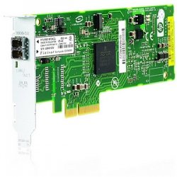 Hewlett Packard (HP) - 394793-B21 - HP-IMSourcing NC373F PCI-E Multifunction 1000SX Gigabit Server Adapter - PCI Express x1 - 1 Port(s) - Optical Fiber - Low-profile