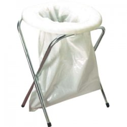 TexSport - 15120 - Texsport Portable Toilet Replacement Bag - Polyvinyl Chloride (PVC) - 12/Pack