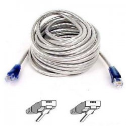 Belkin / Linksys - F3L900-25-ICE-S - Belkin Modem Cable - RJ-11 Male Modem - RJ-11 Male Phone - 25ft - Ice