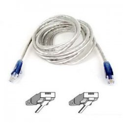 Belkin / Linksys - F3L900-07-ICE-S - Belkin Modem Cable - RJ-11 Male - RJ-11 Male - 7ft - Ice