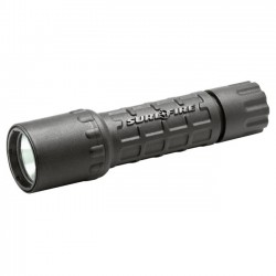SureFire - G2LBK - SureFire G2 Nitrolon Single-Output Incandescent - CR123A - Nitrolon - Black