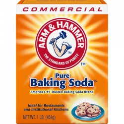 Church & Dwight - 3320084104 - Arm & Hammer Pure Baking Soda - 16 oz (1 lb) - 24 / Carton - White