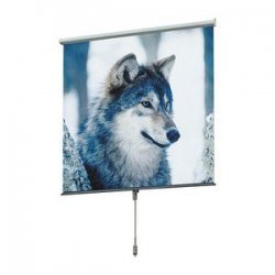 "Draper - 207093 - Draper Luma Manual wall and Ceiling Projection Screen - 54"" x 75"" - Matte White - 82"" Diagonal"