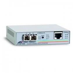 Allied Telesis - AT-MC1004-10 - Allied Telesis AT-MC1004 Media Converter - 1 x RJ-45 , 1 x SC - 1000Base-T, 1000Base-SX