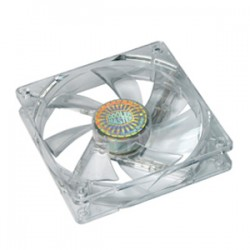 Cooler Master - R4-L2S-122B-GP - Cooler Master Sleeve Bearing 120mm Blue LED Silent Fan for Computer Cases, CPU Coolers, and Radiators (Value 2-Pack) - Value 2-Pack, Blue LED, 120x120x25 mm, ~ 1200 RPM speed, ~ 19 dBA noise level, 30,000 hour lifespan,