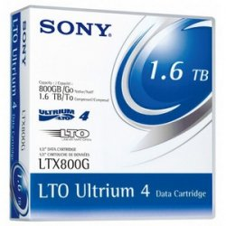 Sony - 20LTX800G - Sony LTX800G LTO Ultrium 4 Tape Cartridge - LTO Ultrium LTO-4 - 800GB (Native) / 1.6TB (Compressed) - 20 Pack