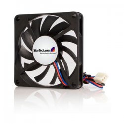 StarTech - FAN7X10TX3 - StarTech.com Replacement 70mm TX3 Dual Ball Bearing CPU Cooler Fan - 70mm - 3500rpm 1 x Dual Ball Bearing