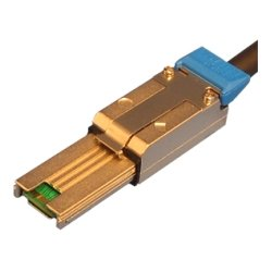 Hewlett Packard (HP) - 407339-B21 - HP Serial Attached SCSI Cable - SFF-8088 - SFF-8088 - 6.56ft