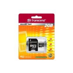 Transcend - TS2GUSD - Transcend 2GB microSD Card - 2 GB