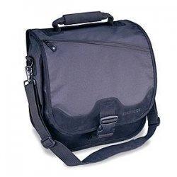 Kensington - K64079L - Kensington SaddleBag Rider University Case - Top-loading - Shoulder Strap - Fabric - Black
