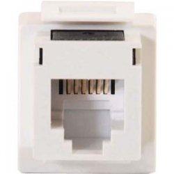 C2G (Cables To Go) / Legrand - 03801 - Cat3 Rj12 Keystone Jack - White
