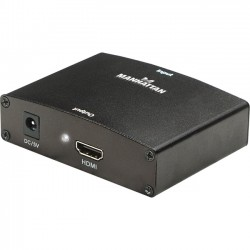 IC Intracom - 177351 - Manhattan VGA to HDMI Converter - Easily converts VGA and stereo audio into an HDMI signal