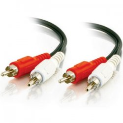 C2G (Cables To Go) - 40466 - C2G 25ft Value Series RCA Stereo Audio Cable - RCA - RCA - 25ft