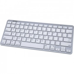 IC Intracom - 177887 - Manhattan Tablet Mini Keyboard with Bluetooth Technology - Scissor-key system reduces typing noise and offers precise keystroke response