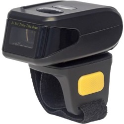 IC Intracom - 178938 - Manhattan Wireless 1D Wearable Ring Barcode Scanner - 19.7 Read Range- Wearable Ring- Wireless BT- 270 Scans per Second