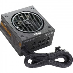 EVGA - 110-BQ-0850-V1 - EVGA 850 BQ Power Supply - ATX12V/EPS12V - 120 V AC, 230 V AC Input Voltage - 3.3 V DC, 5 V DC, 12 V DC, 12 V DC, 5 V DC Output Voltage - 1 Fans - Internal - Modular - 850 W