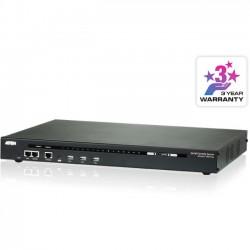 Aten Technologies - SN0116A - Aten 16-Port Serial Console Server - 21 x Network (RJ-45) - 4 x USB - Gigabit Ethernet - Management Port - Desktop, Rack-mountable