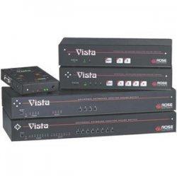 Rose Electronics - KVM-4UPMH - Rose Electronics Vista M KVM-4UPMH 4-Port KVM Switch - 4 x 1 - 4 x DB-25 Keyboard/Mouse/Video - 1U - Rack-mountable