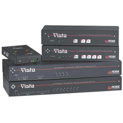 Rose Electronics - KVT-2PC - Rose Electronics Vista KVT-2PC KVM Switch - 2 Computer(s) - 1920 x 1440 - 6 x PS/2 Port