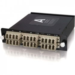 C2G (Cables To Go) - 39128 - C2G Q-Series 24-Strand MTP-LC Multimode 62.5/125 Module - 24 x MTP - 24 Port(s) - 24 x RJ-11 - 24 x MT Port(s)