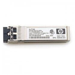 Hewlett Packard (HP) - AJ715A - HP Short Wave B-series Fibre Channel SFP (mini-GBIC) Module - 1 x Fiber Channel