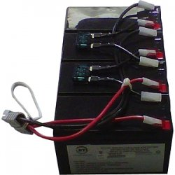 Battery Technology - RBC25-SLA25-BTI - BTI UPS Replacement Battery Cartridge - 12 V DC - Lead Acid
