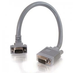C2G (Cables To Go) - 52020 - C2G SXGA Monitor Cable - HD-15 Male - HD-15 Male - 50ft - Gray