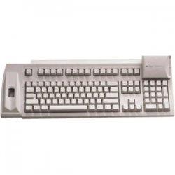 Keytronic - F-SCAN-KSC01US - Keytronic F-SCAN-KSC01US Keyboard - PS/2 - 104 Keys - Beige