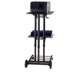 Da-Lite - 90096 - Da-Lite Stand Master II Projection Cart - 2 x Shelf(ves) - 47.3 Height x 17.8 Width x 25.5 Depth
