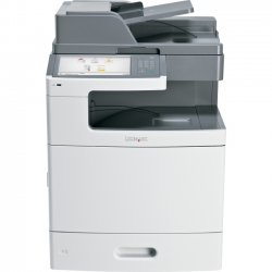 Lexmark - 47BT085 - Lexmark X792DE Laser Multifunction Printer - Color - Plain Paper Print - Desktop - Copier/Fax/Printer/Scanner - 50 ppm Mono/50 ppm Color Print - 2400 x 600 dpi Print - Automatic Duplex Print - 50 cpm Mono/50 cpm Color Copy - 10.2""