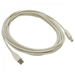 Digi International - 301-9000-02 - Digi USB Cable - Type A Male - Type B Male - 16.4ft - Ivory