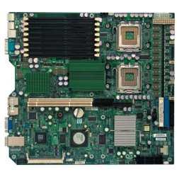 Supermicro - MBD-X7DBR-3-B - Supermicro X7DBR-3 Server Motherboard - Intel Chipset - Socket J LGA-771 - Bulk Pack - Extended ATX - 2 x Processor Support - 32 GB DDR2 SDRAM Maximum RAM - 667 MHz Memory Speed Supported - 8 x Memory Slots - Floppy