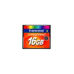 Transcend - TS16GCF133 - Transcend 16GB CompactFlash (CF) Card - 133x - 16 GB