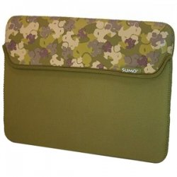 Mobile Edge - SUMO-IPADSC9 - SUMO Camo iPad Sleeve (Green) - Sleeve - 8.9 Screen Support - Neoprene - Green