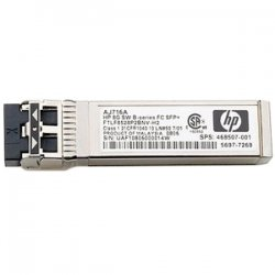 Hewlett Packard (HP) - AJ717A - HP 8Gb Long Wave SFP Transceiver Module - 8