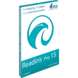 IRIS - 458476 - I.R.I.S. Readiris v.15.0 Pro - OCR Utility - Electronic - PC