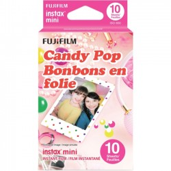Fujifilm - CANDYPOP 3PK KIT - Fujifilm Instax Mini Candy Pop Film - ISO 800
