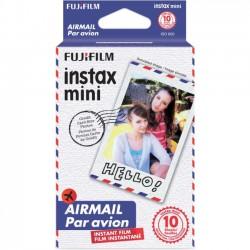 Fujifilm - AIRMAIL 3PK KIT - Fujifilm Instax Mini Airmail Film - ISO 800