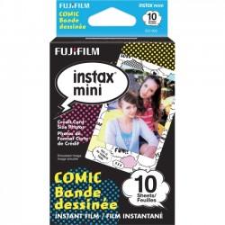 Fujifilm - COMIC 3PK KIT - Fujifilm Instax Mini Comic Film - ISO 800