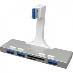 Sabrent - HB-IMCR-PK60 - Sabrent USB 3.0 3-port Hub - USB - External - 3 USB Port(s) - 3 USB 3.0 Port(s) - iOS, Mac