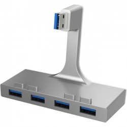Sabrent - HB-IMCU-PK60 - Sabrent 4-Port USB 3.0 Hub For iMac Slim Unibody - USB - External - 4 USB Port(s) - 4 USB 3.0 Port(s) - Mac