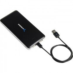 Sabrent - PB-W120-PK20 - Sabrent Portable Battery Charger - 12000mAh - For Smartphone, Tablet PC, iPhone - 12000 mAh - 3.10 A - 5 V DC Output - 5 V DC Input - 2 x - Black