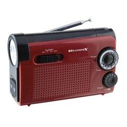 GPX - WR182R - WeatherX Instant NOAA Weatherband Radio - AM, FM