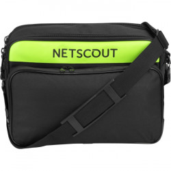 NetScout Systems - LG SOFT CASE - NetScout Carrying Case for Wireless Tester - Shoulder Strap