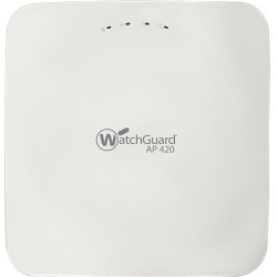Watchguard Technologies - WGA42403 - Trade Up to WatchGuard AP420 and 3-yr Basic Wi-Fi - 2.40 GHz, 5 GHz - 10 x Antenna(s) - 10 x Internal Antenna(s) - MIMO Technology - 2 x Network (RJ-45) - USB