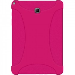 Amzer - AMZ97788 - Amzer Rugged Silicone Skin Jelly Case for Samsung Galaxy Tab A 8.0 - Hot Pink - Tablet - Hot Pink - Textured - Silicone